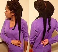 Natural Hair Shrinkage Is Deceiving - 20 Naturals Display Their Truth Hair Length6