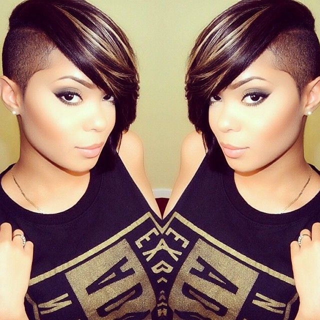 Shaved Hairstyle Ideas For Black Women 11