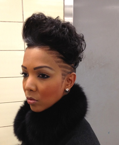 Shaved Hairstyle Ideas For Black Women 15
