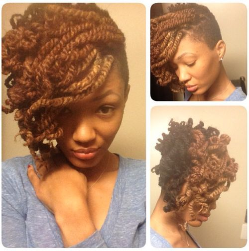 Shaved Hairstyle Ideas For Black Women 16