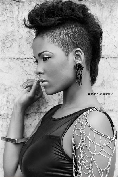 Shaved Hairstyle Ideas For Black Women  3