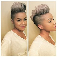 Shaved Hairstyle Ideas For Black Women 5