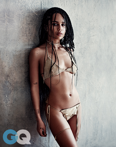 Zoe Kravitz Looks Smoking Hot In Latest Issue of GQ Magazine 3