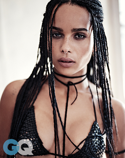Zoe Kravitz Looks Smoking Hot In Latest Issue of GQ Magazine 6