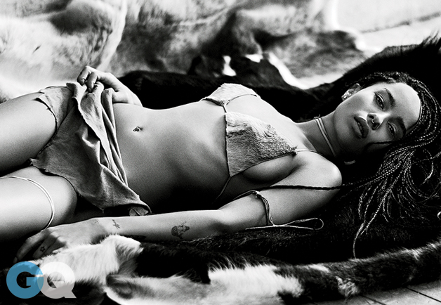 Zoe Kravitz Looks Smoking Hot In Latest Issue of GQ Magazine 7