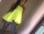 Angela Simmons Wears Pretty Braided Crown Hairstyle  4