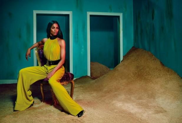 Ciara For Roberto Cavalli Fall Winter 2015-16 AD Campaign 6