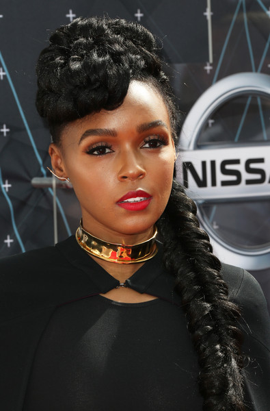 Hairstyles & Makeup Trends From The 2015 BET Awards 8