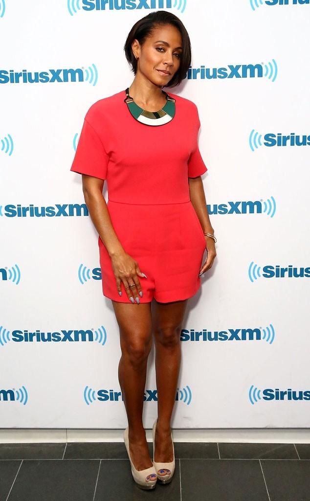 Jada Pinkett Smith Returns To The  Bob Wears A Chic Summer Romper