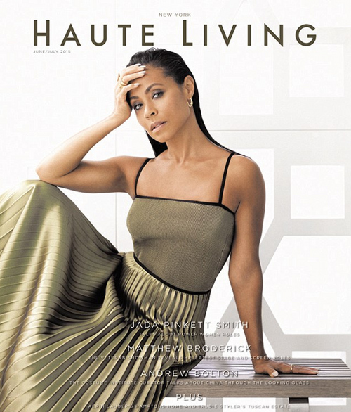 Jada Pinkett Smith Stuns In Sophisticated Fashion for Haute Living Magazine 5