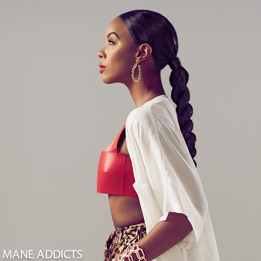 Kelly Rowland's Shares Iconic Hairstyles With Mane Addicts ...