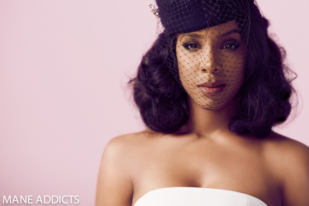 Kelly Rowland's Shares Iconic Hairstyles With Mane Addicts 4