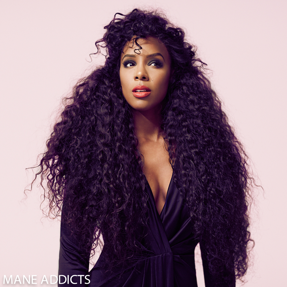 Kelly Rowland's Shares Iconic Hairstyles With Mane Addicts 5