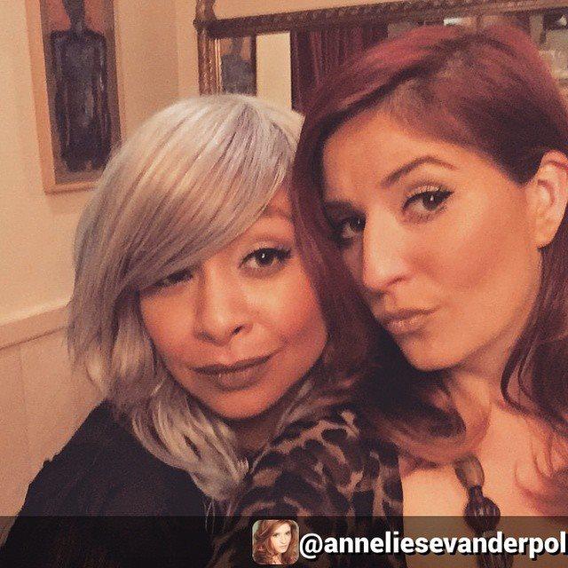 Raven-Symoné Tries Grey Hair Trend 2