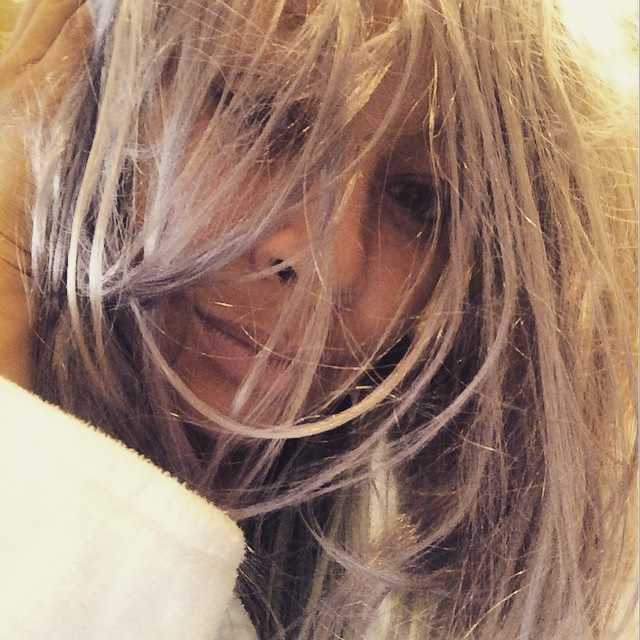Raven-Symoné Tries Grey Hair Trend