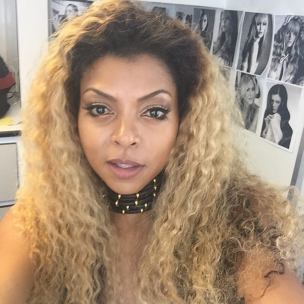 Taraji P. Henson Turns Blonde With New Hair Color 2