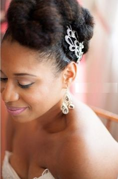 2016 Wedding Hairstyles For Black Women  17