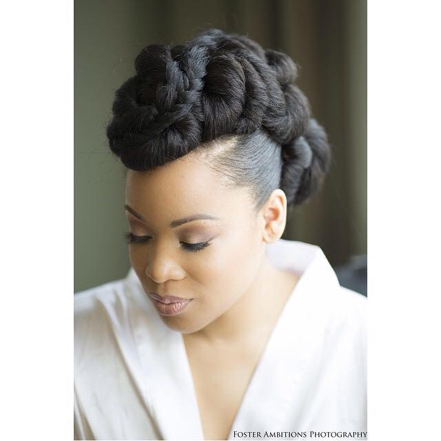 2016 Wedding Hairstyles For Black Women  7