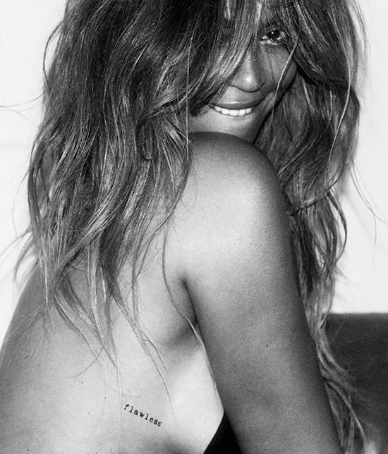 Beyonce Flash Tattoos Collection + AD Campaign 2