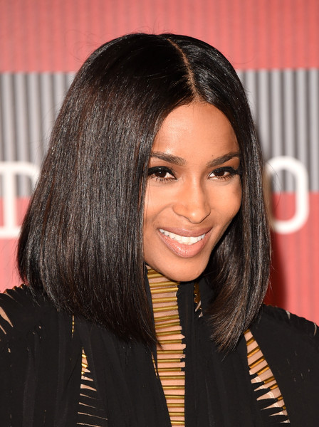 Ciara Debuts Sultry Lob At 2015 MTV Video Music Awards