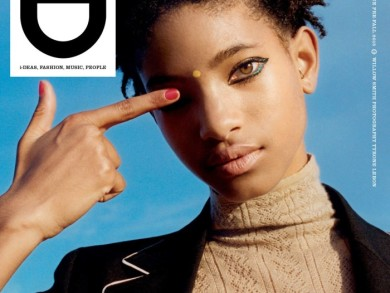 On The Cover - Willow Smith for i-D Pre Fall 2015 2