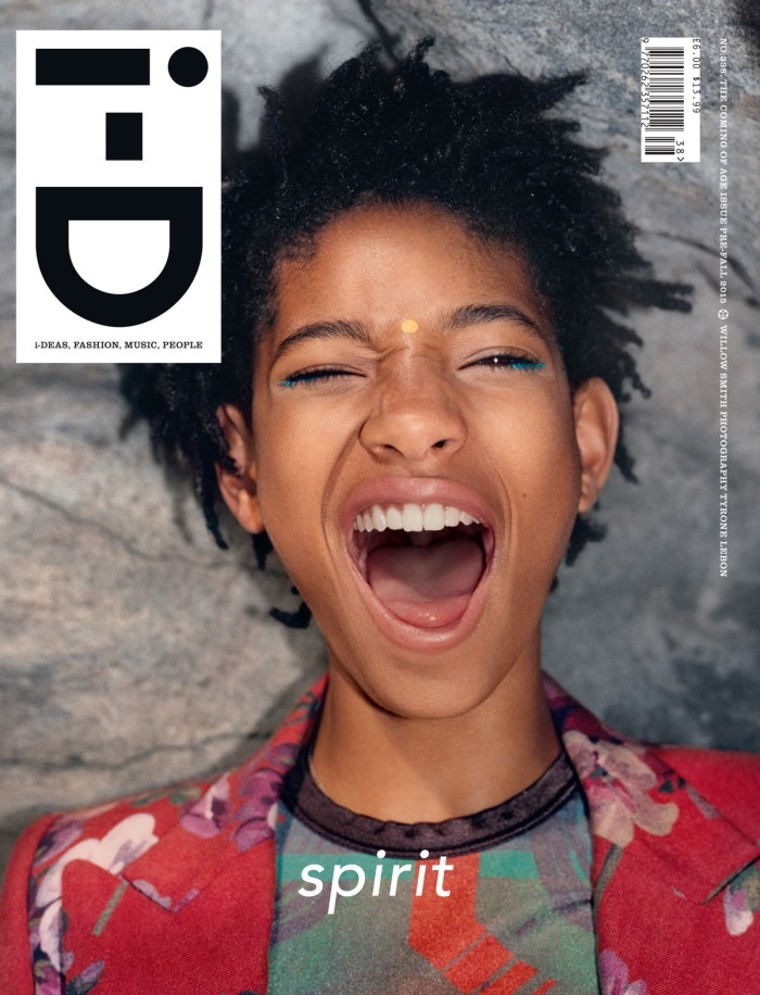 On The Cover - Willow Smith for i-D Pre Fall 2015
