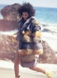 Cora Emmanuel Flaunts Her Curls for ELLE Magazine November 2015 Issue