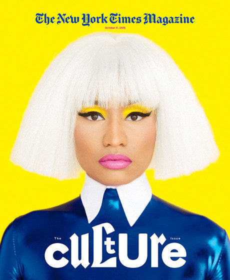 Nicki Minaj Poses for The New York Times Magazine 4