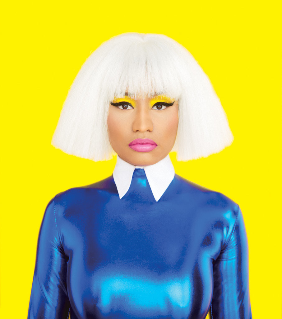 Nicki Minaj Poses for The New York Times Magazine