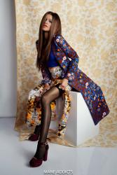Zendaya Poses for Mane Addicts 2