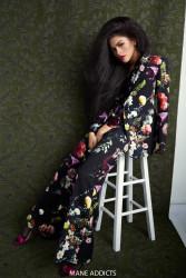 Zendaya Poses for Mane Addicts 4