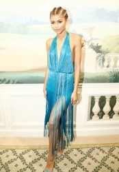 Zendaya Rocks Cornrow Braids During Paris Fashion Week