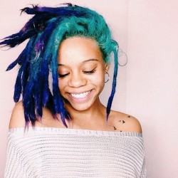 20 Dreadlock Hairstyles For Those Who Heart Color