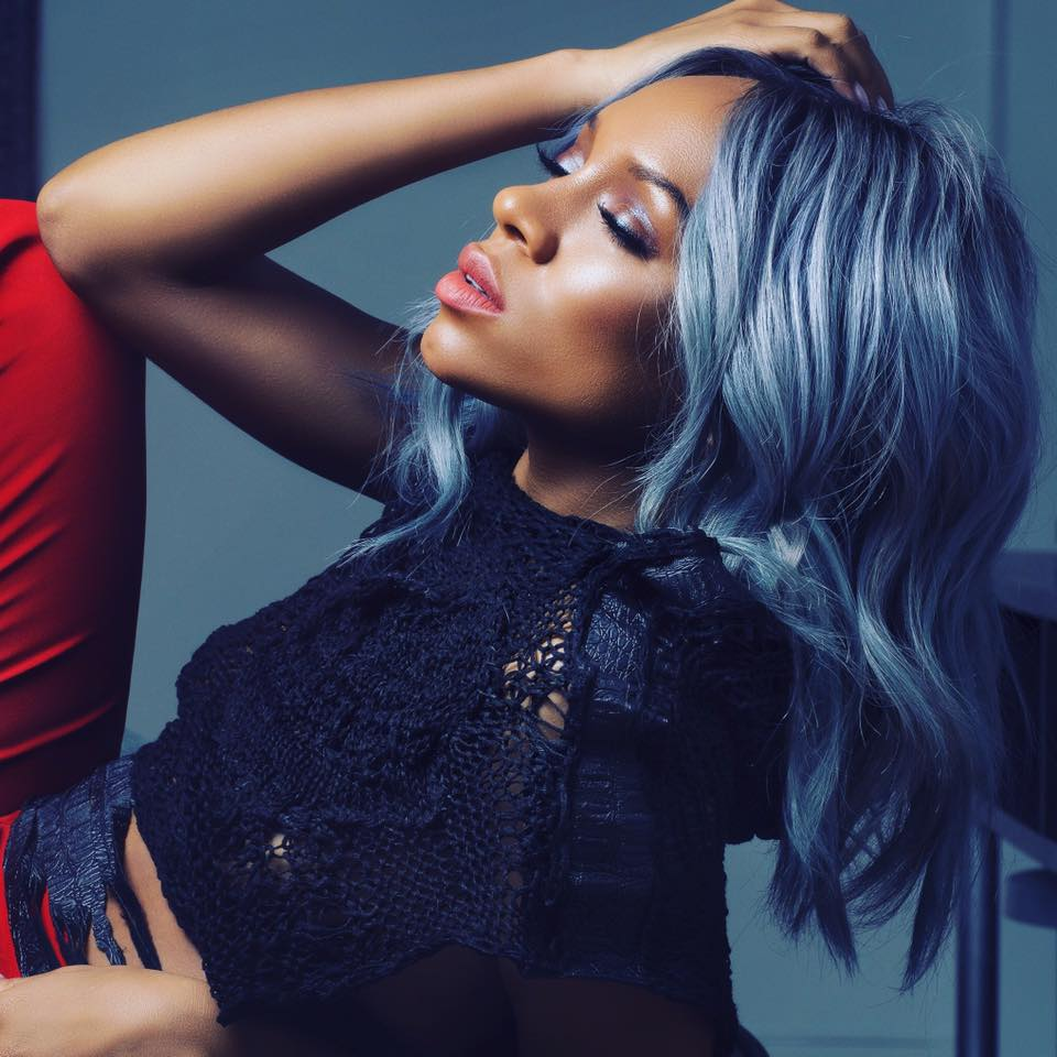 Lil Mama Joins Grey Hair Trend  2