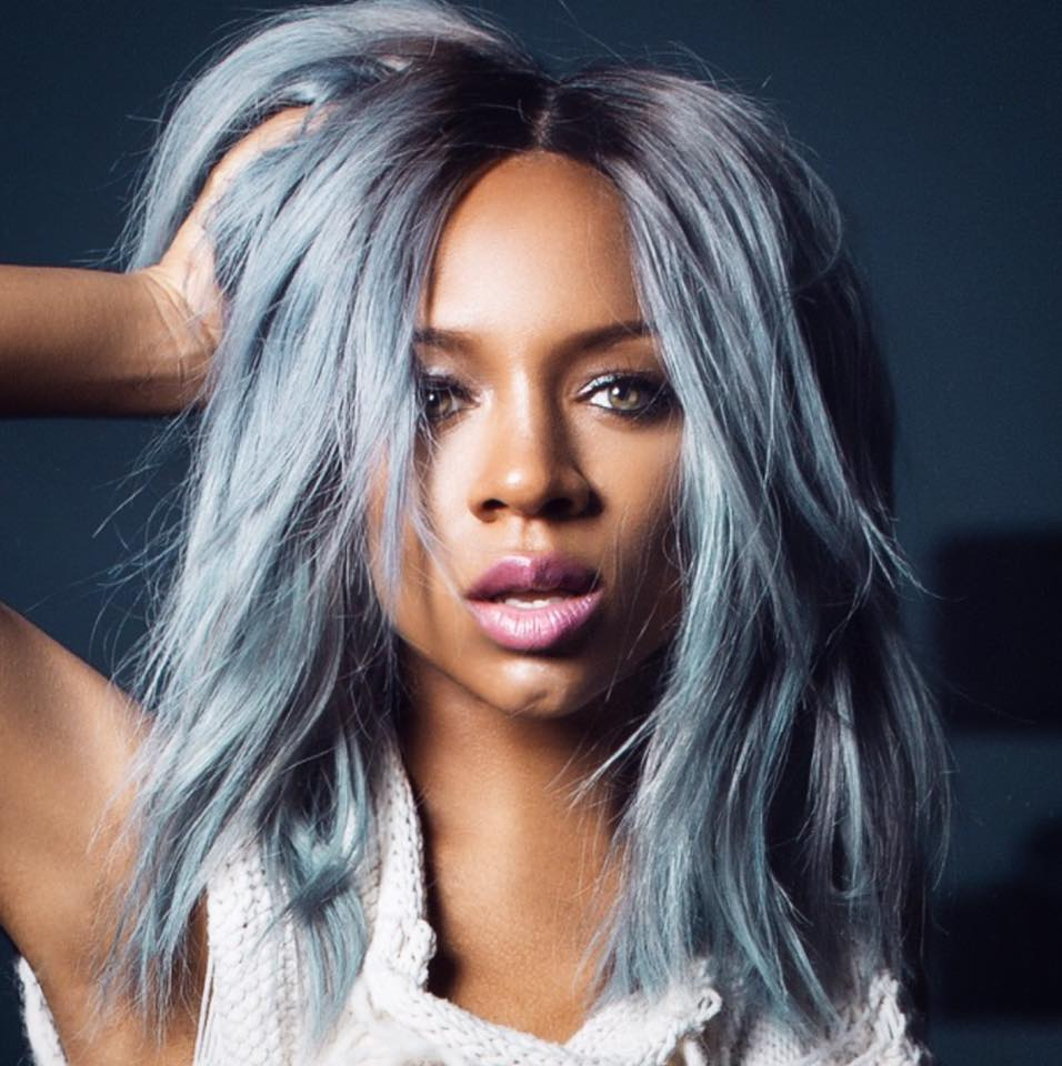 Lil Mama Joins Grey Hair Trend  3