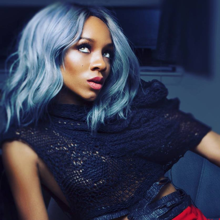 Lil Mama Joins Grey Hair Trend  4