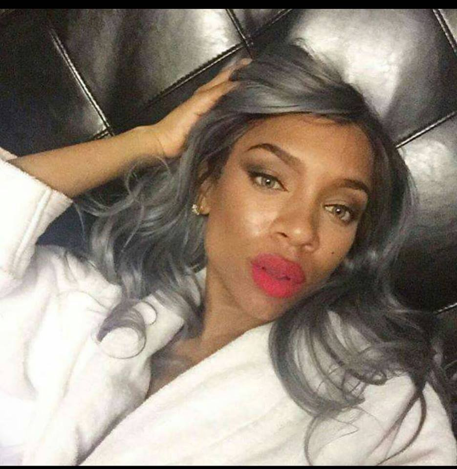 Lil Mama Joins Grey Hair Trend