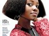 Lupita Nyong'o Rocks Textured Bob On Rhapsody Magazine Cover 3