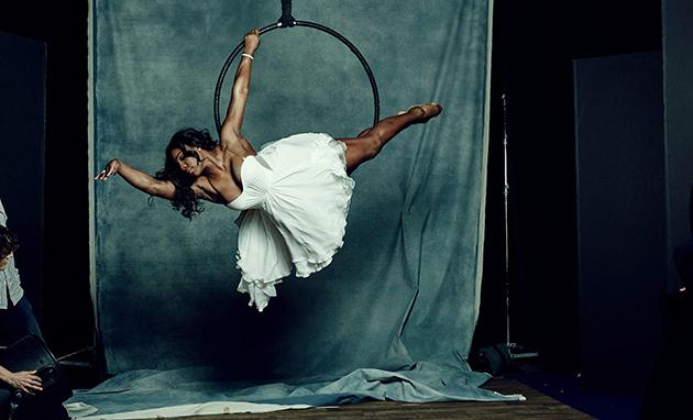 SOTY: Serena Williams portrait shoot Hollywood Aerial Arts Studio/Inglewood, CA, USA 11/18/2015 X160156 TK1 Credit: Yu Tsai