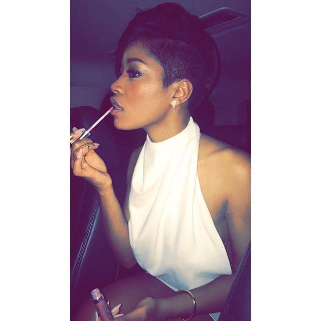 Keke Palmer Gets Edgy Shaved Haircut For The New Year 4
