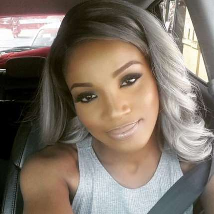 25 New Grey Hair Color Combinations For Black Women  16