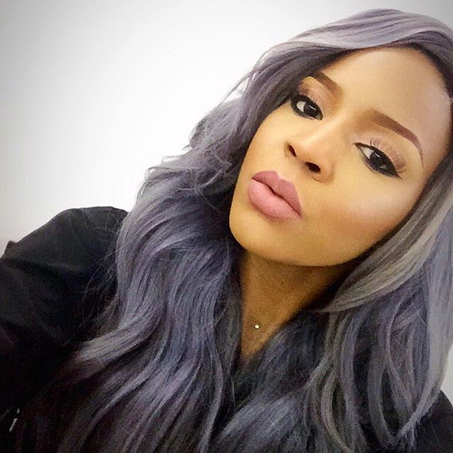 25 New Grey Hair Color Combinations For Black Women 19