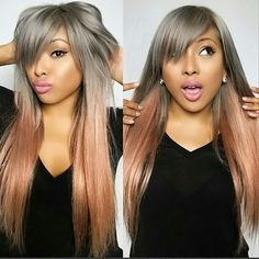 25 New Grey Hair Color Combinations For Black Women 23