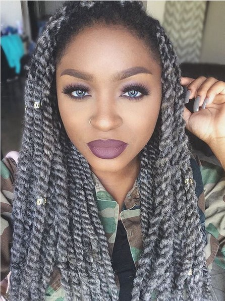 25 New Grey Hair Color Combinations For Black Women - The Style News Network