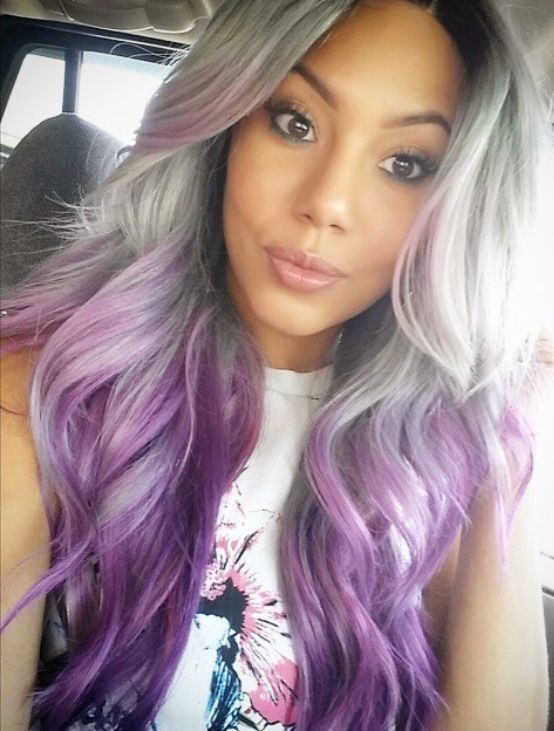 25 New Grey Hair Color Combinations For Black Women 9