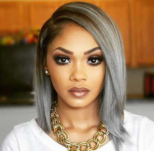 womens grey color hairstyles 25 new grey hair color ...