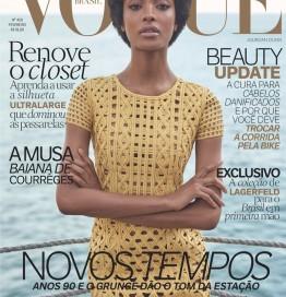 Jourdan Dunn Rocks Afro In VOGUE Brazil February 2016 Issue