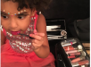 Blue Ivy Carter Plays With Mommy's Makeup