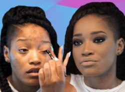 Keke Palmer Shows Us How To Step Up Our Makeup Game On Youtube  2