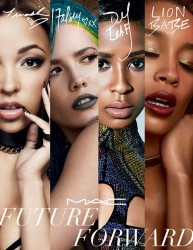 MAC Future Forward Spring 2016 Collection Featuring Tinashe, Halsey, Dej Loaf and Lion Babe